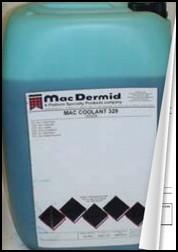 Olio Mac Dermid Coolant 329 scheda tecnica e di sicurezza