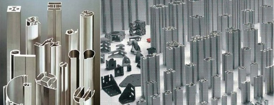 Profilati di alluminio estruso