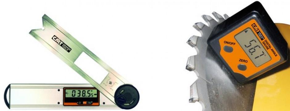 Goniometro e squadra con livella