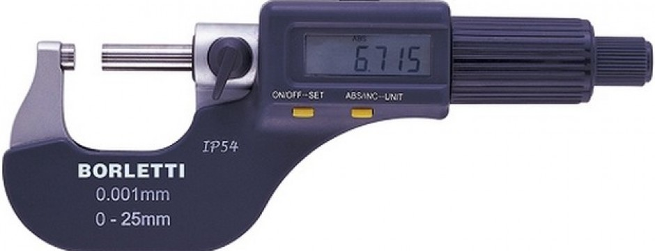 Micrometro millesimale digitale bBorletti