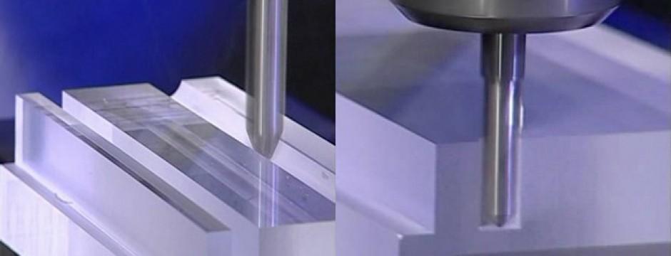 Lavorazione policarbonato al pantografo con frese